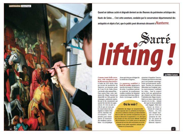 Sacré lifting © Didier Raux