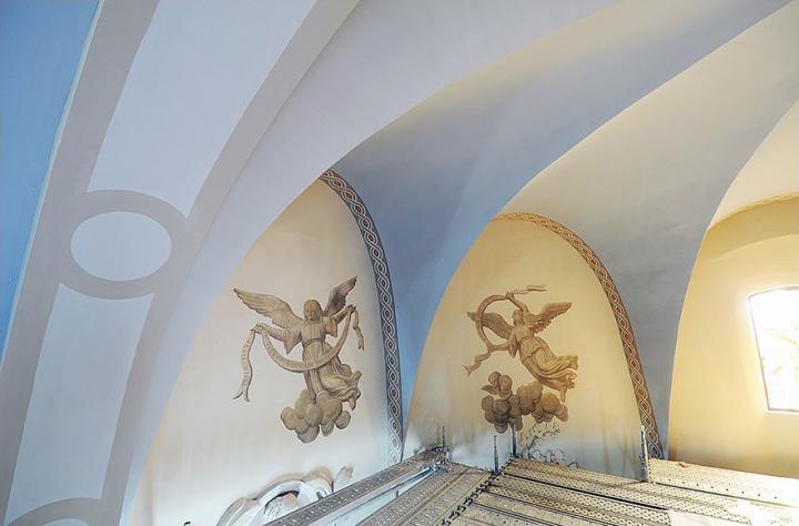 Restauration de l'église de Nailloux © Didier Raux
