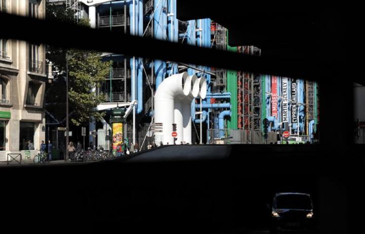 Centre Pompidou Paris, musée d'art moderne © Didier Raux