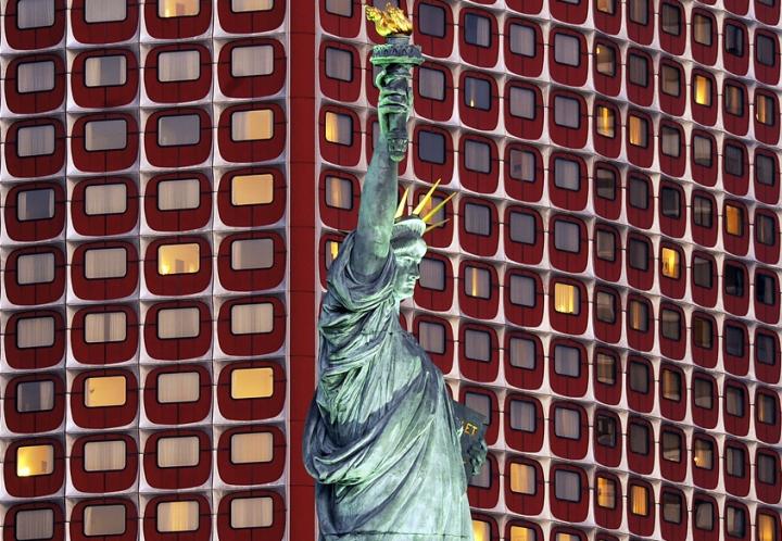 La statue de la Liberté à Paris © Didier Raux