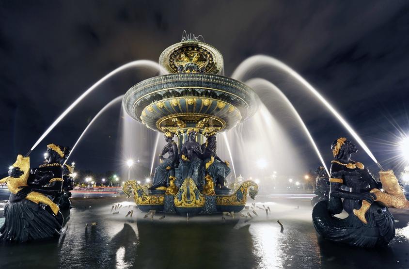 La fontaine des mers à Paris © Didier Raux