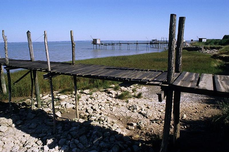 Les carrelets de l'estuaire de la Gironde © Didier Raux