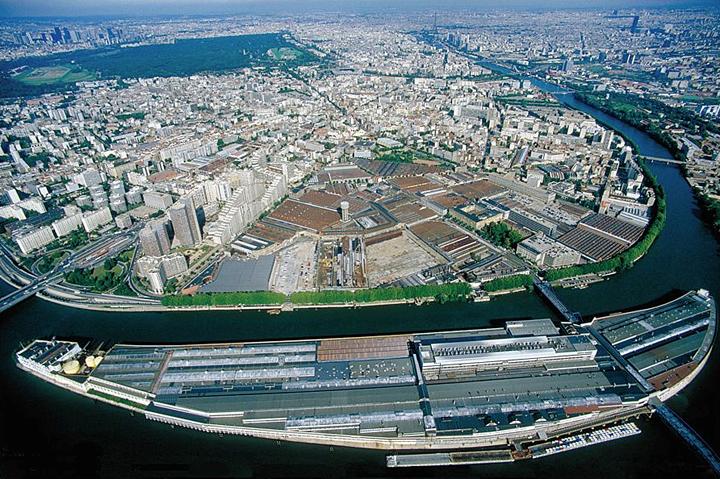 Les usines Renault 1986, Boulogne et la boucle de la Seine © Didier Raux