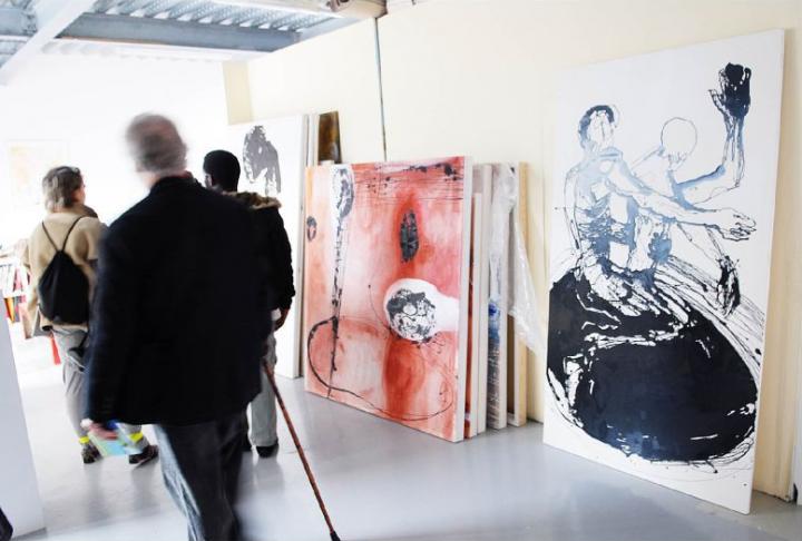 Portes ouvertes Ateliers d'artistes à Issy les Moulineaux © D.Raux