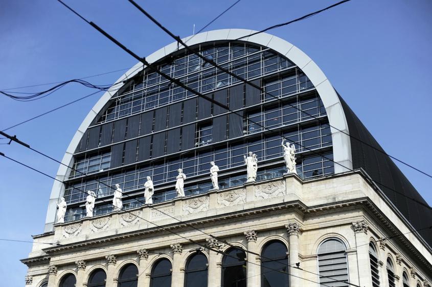 Opéra de Lyon, architecte Jean Nouvel © D.Raux