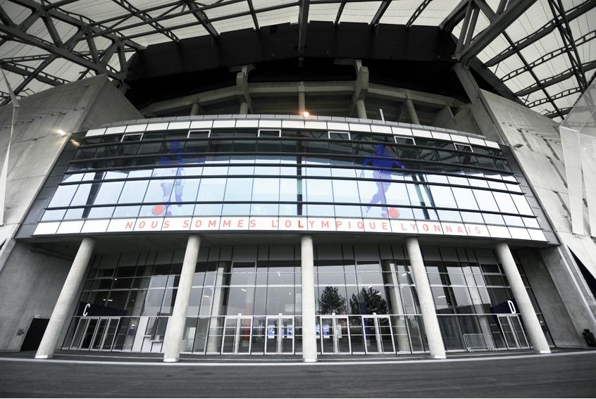 Le grande stade de Lyon ou Parc OL © D.Raux