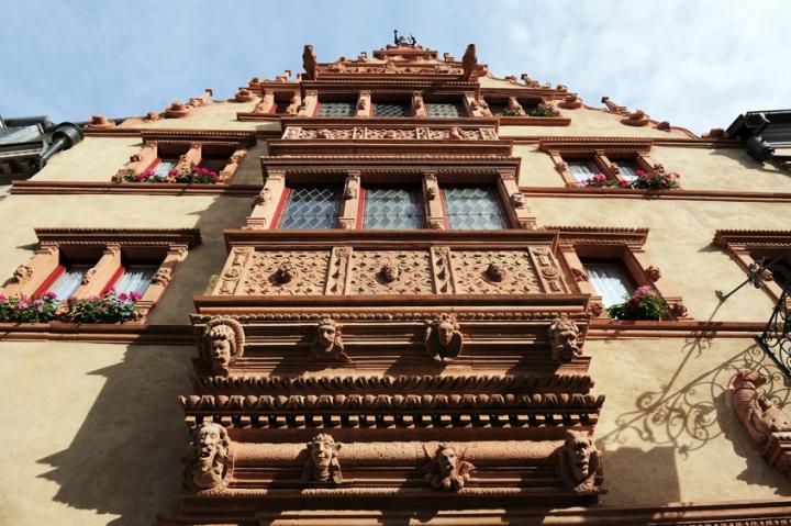 La maison des Têtes de Colmar. © Photos D.Raux