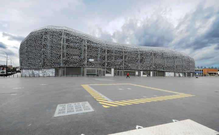 Le nouveau Jean Bouin de Rudy Ricciotti architecte. ©D.Raux