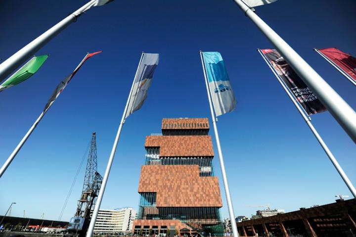 Le MAS, nouvel emblème d'Anvers ! © Photos Didier Raux