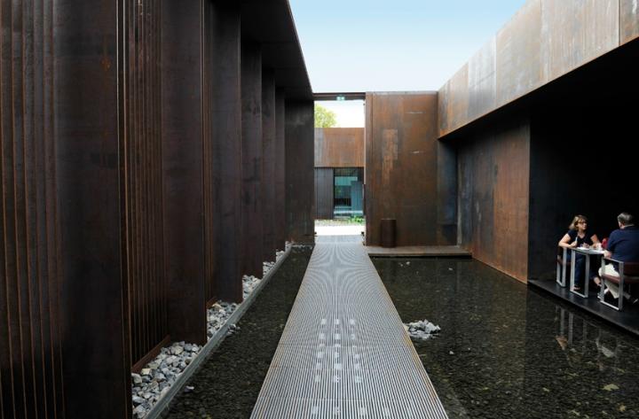 Leur projet place le musée sur le flanc nord du jardin du Foirail entièrement réhabilité.