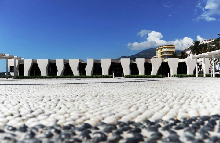 Le musée Cocteau à Menton. © Photo Didier Raux