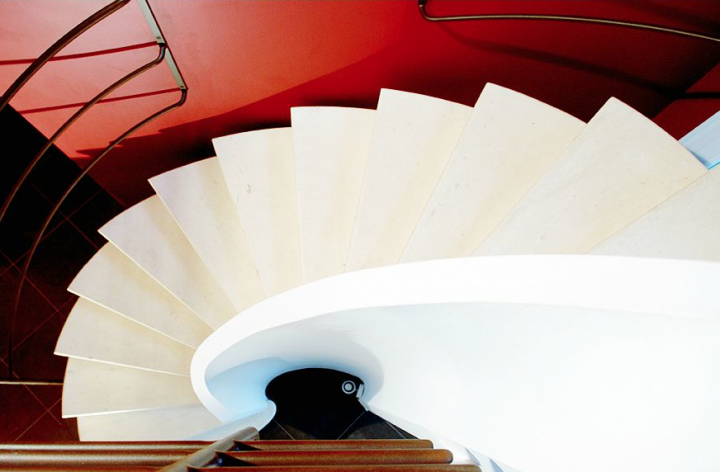 Escalier en voûte sarrasine © Photo Didier Raux