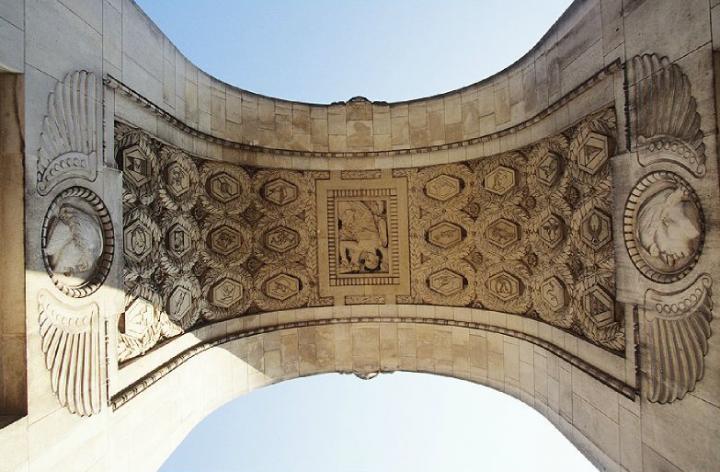 Ce monument rend hommage aux aviateurs volontaires américains qui ont servi aux côtés des forces armées françaises. © Photo Didier Raux