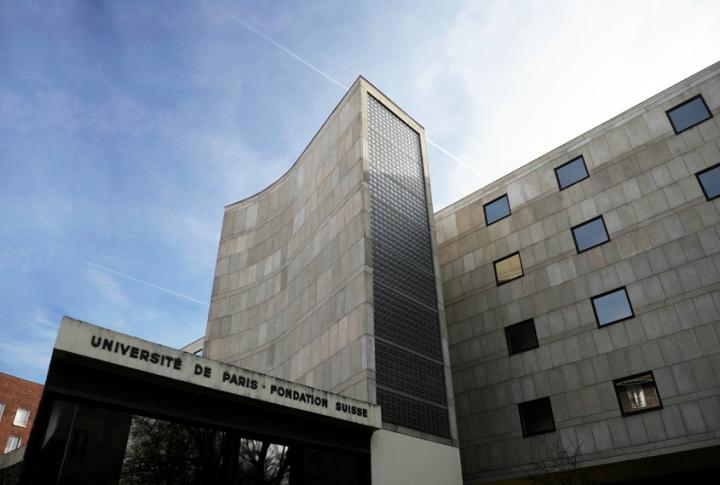 Le Corbusier, La Fondation Suisse, cité universitaire de  Paris. © Photo Didier Raux