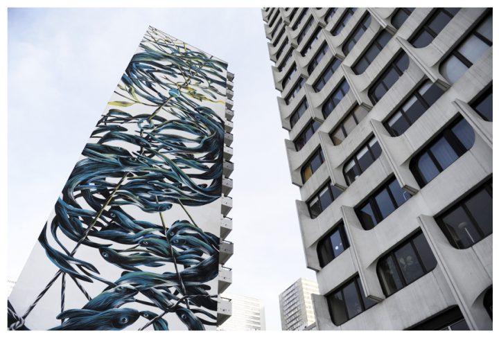 Fresque immeuble Paris 12