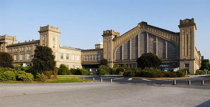 La gare maritime de cherbourg archiphotos for Architecte cherbourg