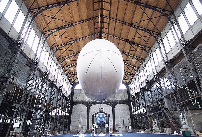 Hangar Y à Meudon 2
