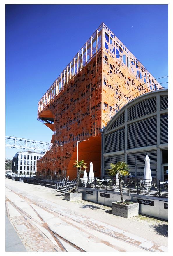 Immeuble Confluences Lyon © D Raux 8