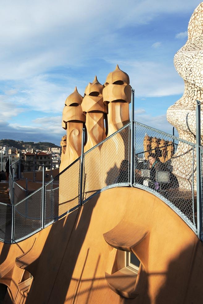 La Casa Mila Barcelone © Didier Raux11
