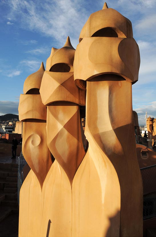 La Casa Mila Barcelone © Didier Raux19