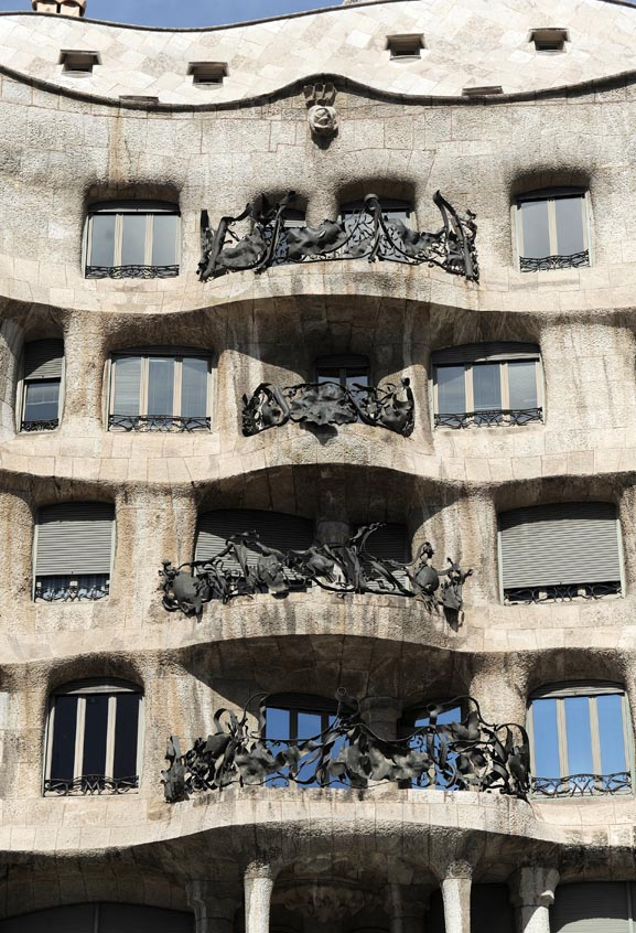 La Casa Mila Barcelone © Didier Raux24