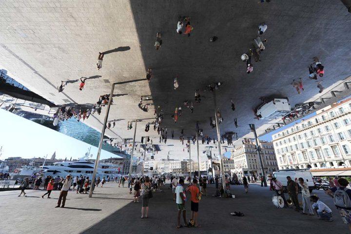 Le Miroir Norman Foster Marseille © D Raux 1