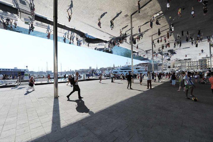 Le Miroir Norman Foster Marseille © D Raux 3