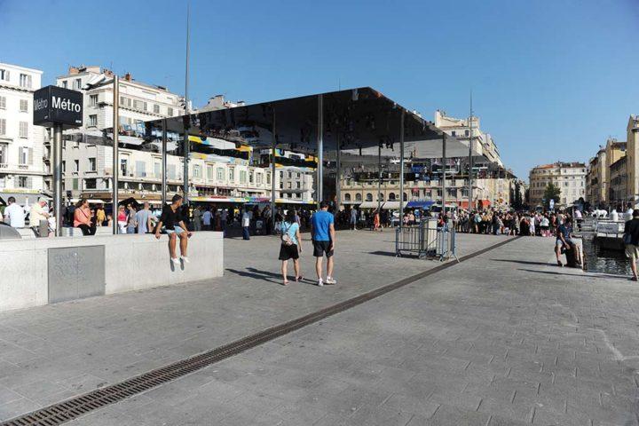 Le Miroir Norman Foster Marseille © D Raux 5