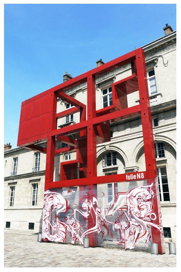 Les Folies de La Villette © Didier Raux 2