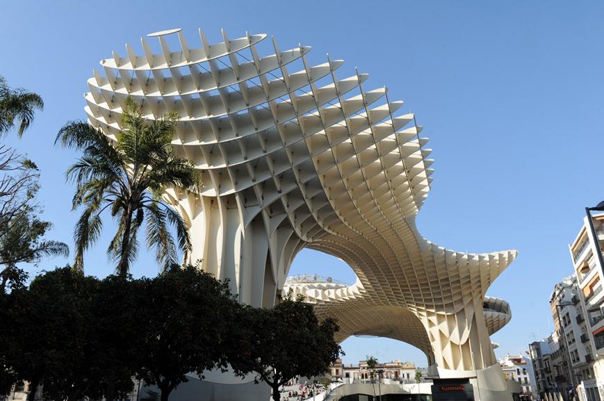 Le Metropol Parasol, le tout nouveau symbole de Séville © Didier Raux