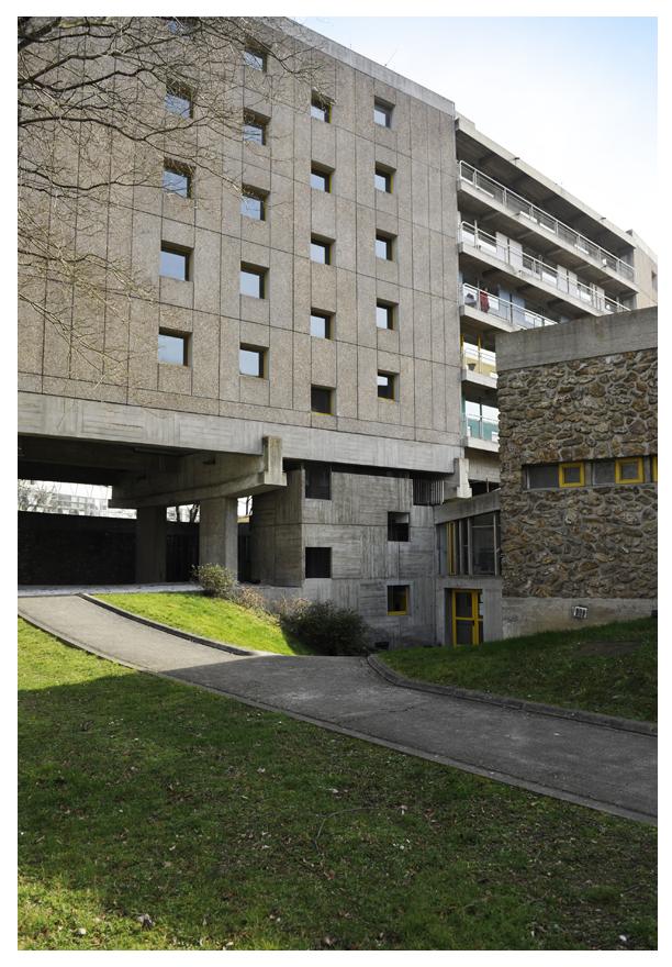 Maison du Brésil Le Corbusier 1