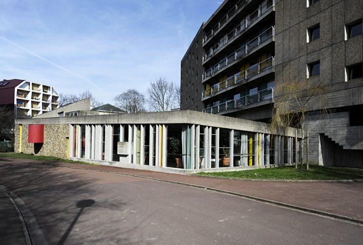 Maison du Brésil Le Corbusier 11