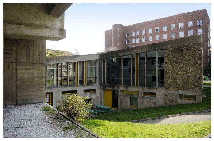 Maison du Brésil Le Corbusier 2