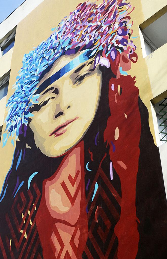 Paris 13 Fresque murale © Didier Raux 10