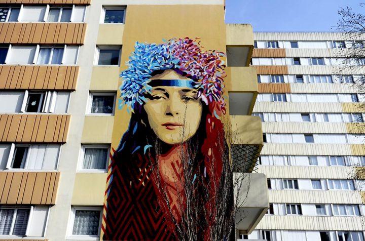 Paris 13 Fresque murale © Didier Raux 12