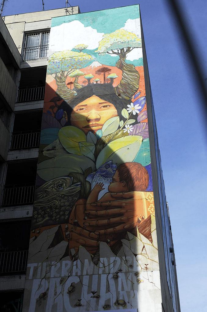 Paris 13 Fresque murale © Didier Raux 4