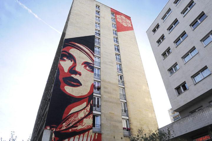 Paris 13 Fresque murale © Didier Raux 5
