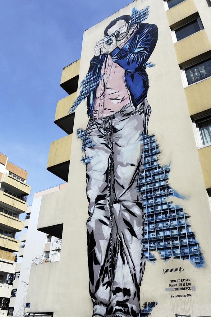 Paris 13 Fresque murale © Didier Raux 6