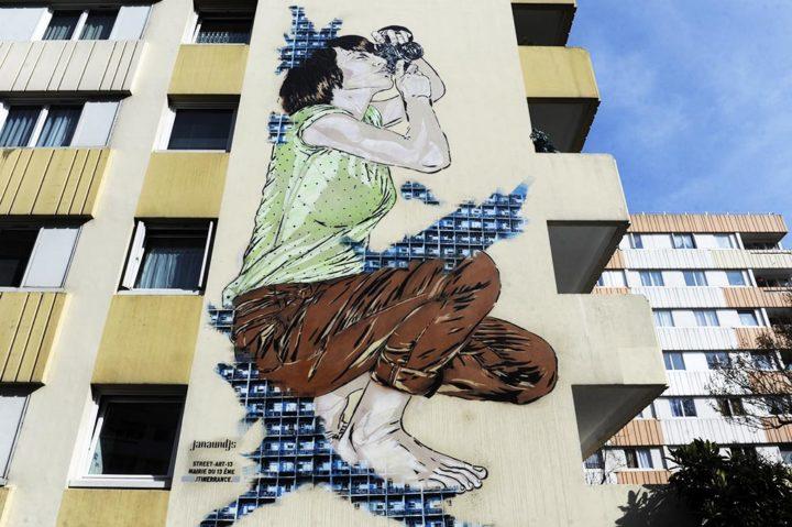Paris 13 Fresque murale © Didier Raux 8