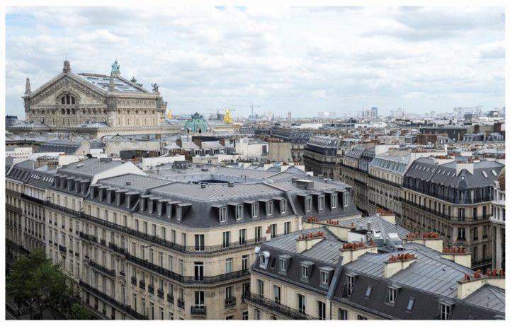 Paris vu d'en haut du Pintemps © Didier Raux 1