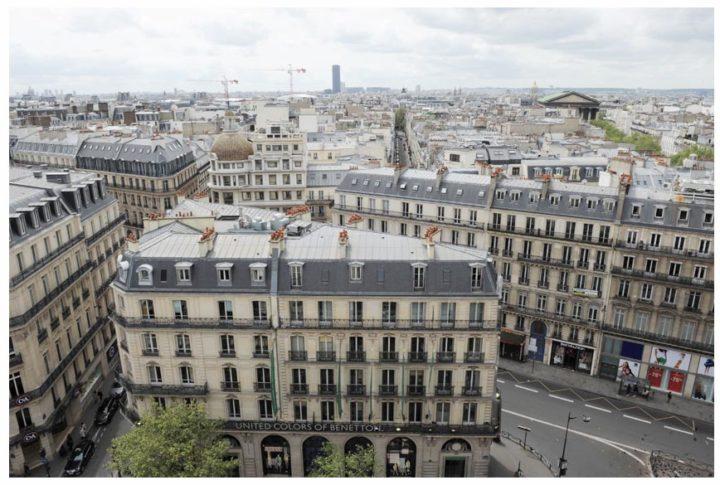 Paris vu d'en haut du Pintemps © Didier Raux 12