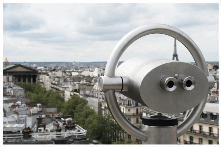 Paris vu d'en haut du Pintemps © Didier Raux 13