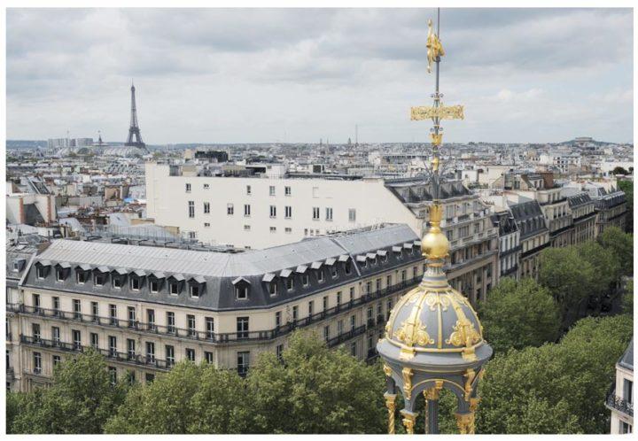 Paris vu d'en haut du Pintemps © Didier Raux 14