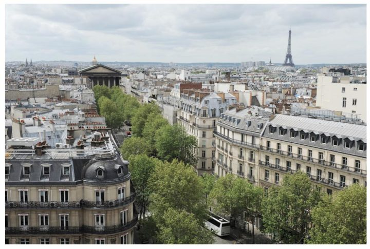 Paris vu d'en haut du Pintemps © Didier Raux 15