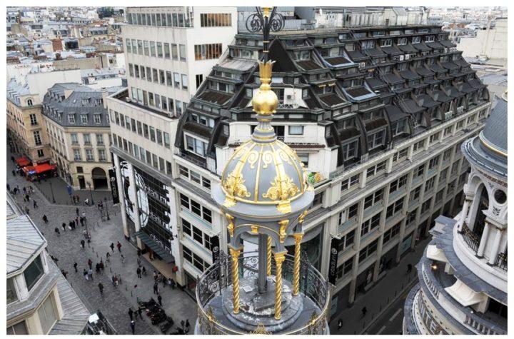 Paris vu d'en haut du Pintemps © Didier Raux 2