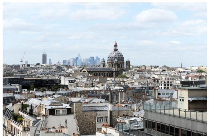 Paris vu d'en haut du Pintemps © Didier Raux 6