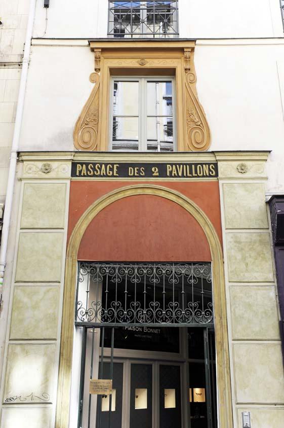 Passage des 2 Pavillons 1