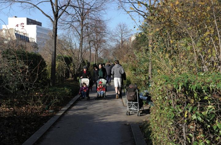 """La """"highline"""" de New-York s'est inspirée de la Promenade Plantée de Paris. © Photo Didier Raux"""