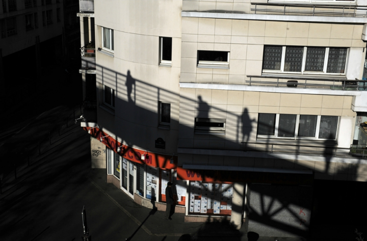 Une bonne partie de la Promenade vous permet de surplomber la ville, le parcours se situant a environ 7 mètres au dessus des rues. © Photo Didier Raux