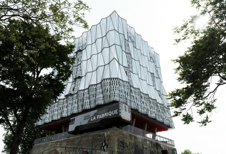 Le Bâtiment est construit sur un ancien blockhaus. © Photos Didier Raux